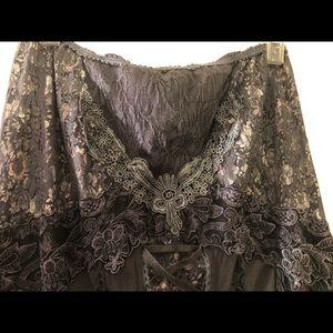 Dresses & Skirts - Beautiful renaissance long grey skirt